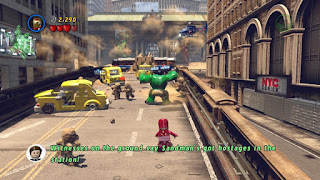 Screenshot 1 Game Lego Marvel Super Heroes