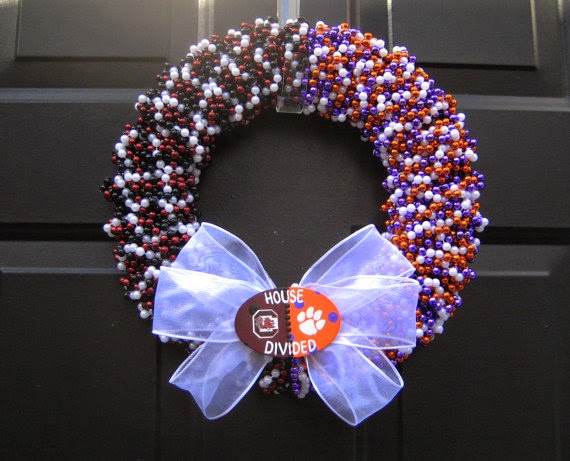 House Divided Custom Team Wreath