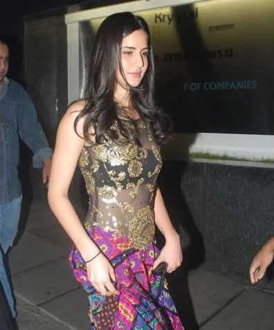 Katrina At Salman Khan's Family Bash Wallpapers