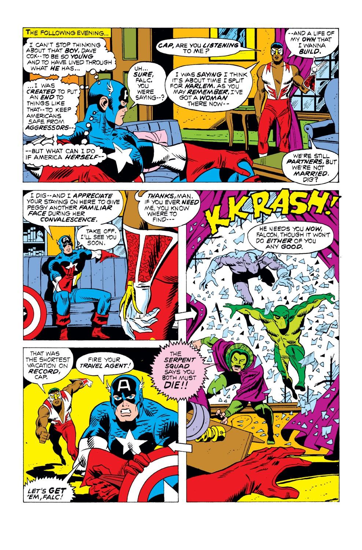 Captain America (1968) Issue #163 #77 - English 7