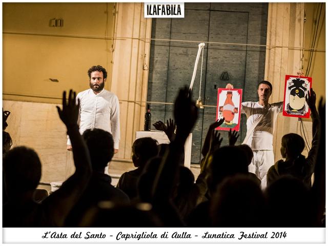 Quando il Santo va all'Asta: gli Omini e Caprigliola - Lunatica Festival 2014 - La Sfida