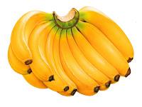 frutas, banana, alimentação saudavel