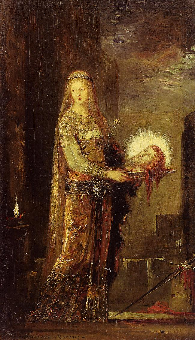 moreau salome paintings