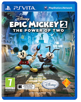 Disney Epic Mickey 2 Coming To PlayStation Vita