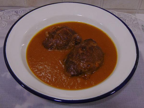 Amazing Carrillada De Cerdo Con Salsa De Verduritas (Cookeo)