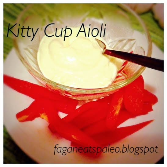 Kitty Cup Aioli