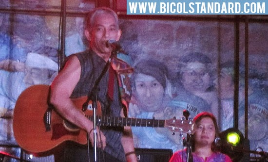 Joey Ayala's Anduyog sa Salog Concert in Naga City PHOTO: OSCAR ESMENDA/BICOL STANDARD
