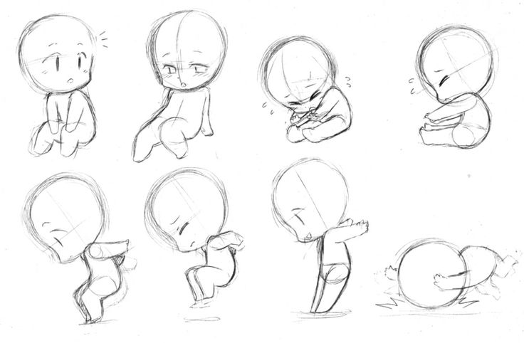 como desenhar mang u00e1  como fazer chibi ou sd