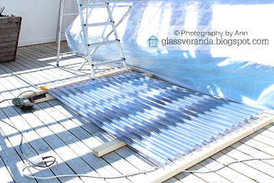 Takplater plast terrasse