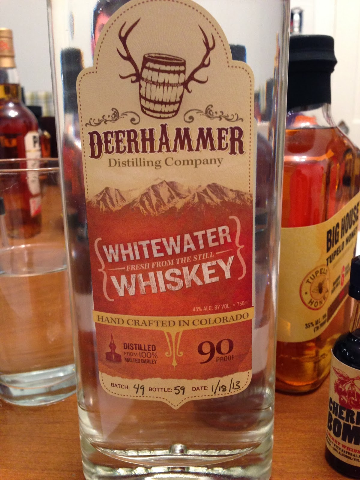 Deerhammer Whitewater Whiskey