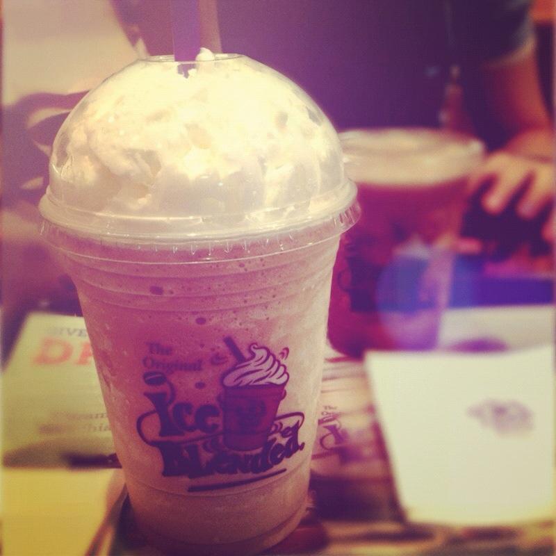 coffee bean malaysia hazelnut instagram