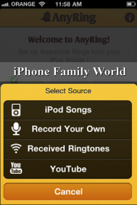 AnyRing 6.23 - iphone family world | iphone family
