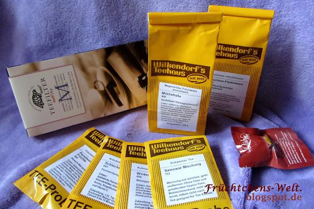 Shopvorstellung Wilkendorf's Teehaus - Die Bestellung