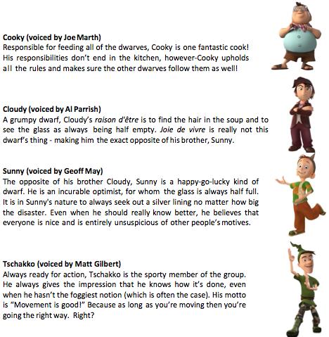 five dwarfs