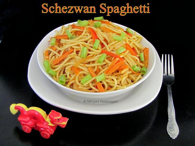 Schezwan Spaghetti