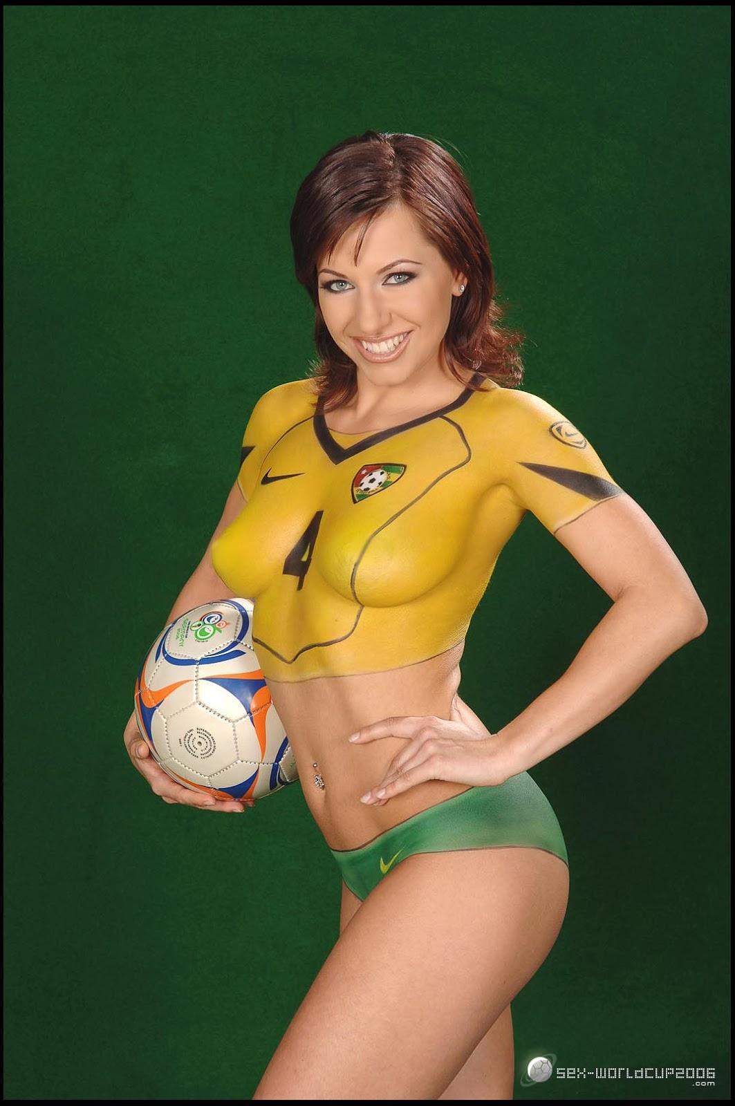 Best Body Painting: Soccer Body Paint Women