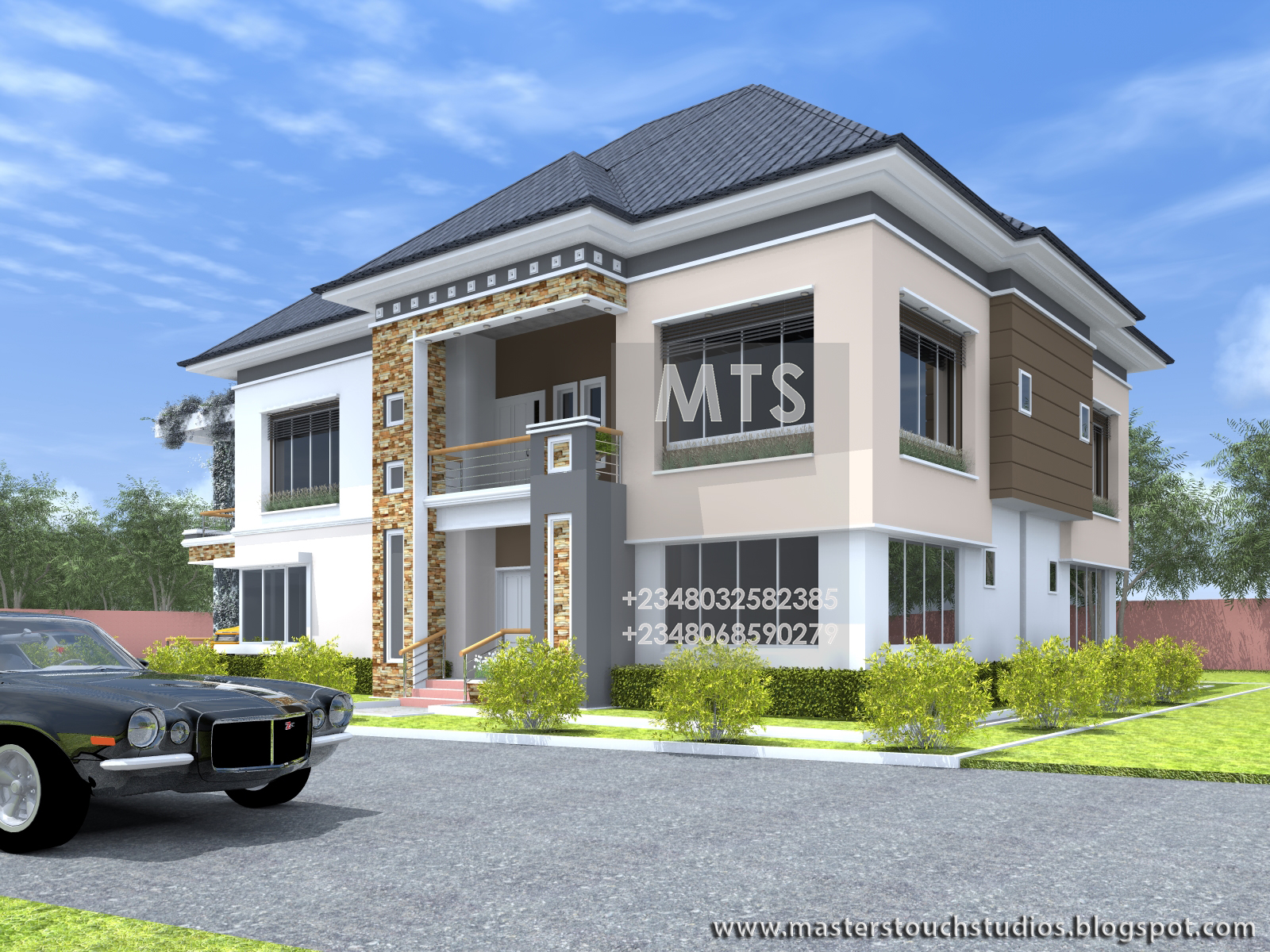 Engr Eddy 6 Bedroom Duplex
