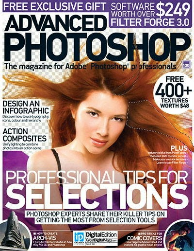 Advanced Photoshop Magazine Issue 130 2015