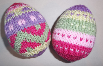 Easter Knitting Workshops and Easter Egg Pattern