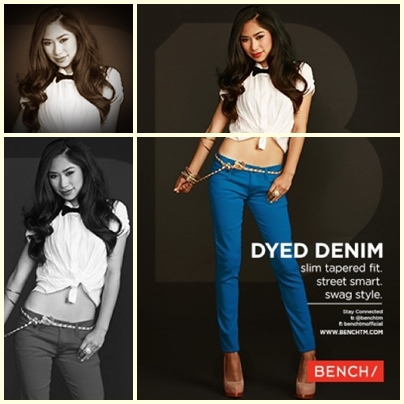 Jessica Sanchez for Bench Back to School Denim Campaign 2013
