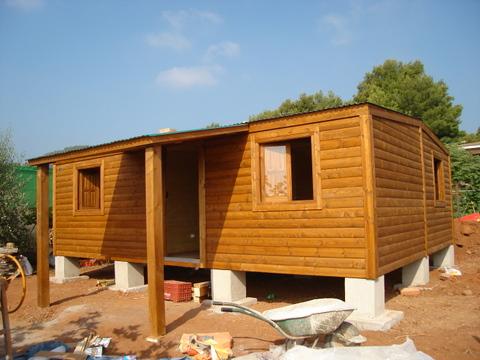 Segunda mano casas de madera casas con pergolas de madera - Garajes de madera de segunda mano ...