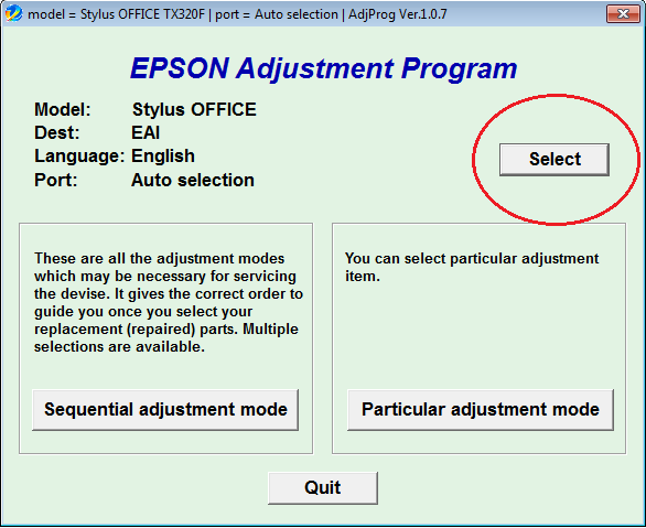 reseteo de almohadillas para epson workforce 435