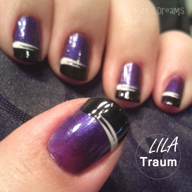 Nails of the week: Nail design - Ein Traum in Lila