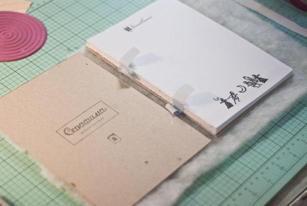 Скрапбукинг. как сделать блокнот