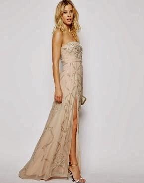 Affordable Embellished Wedding Dress from ASOS