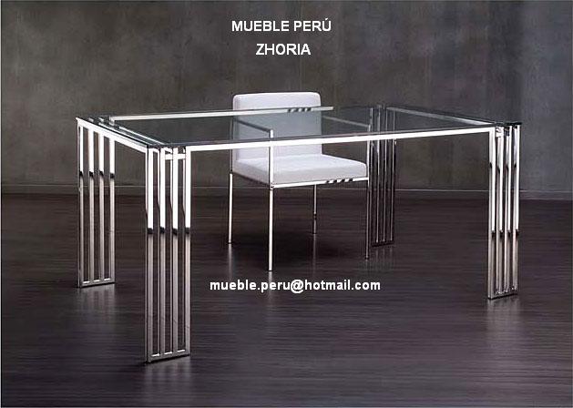 Comedores   muebles perÚ: comedores y mesas de acero