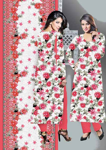Saba Qamar Wear Dawood Classic women cotton dresses 2012-2013