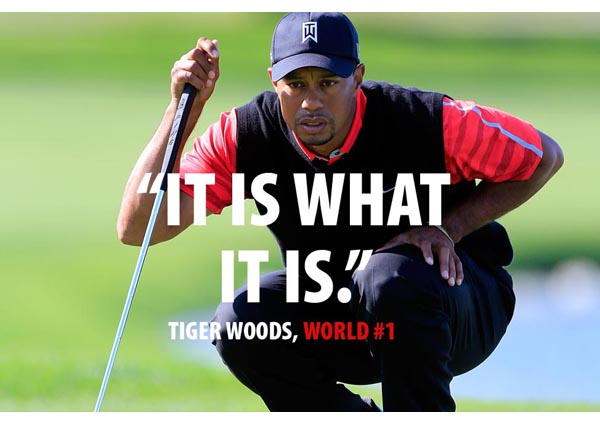 Tiger Woods' Nike Ad