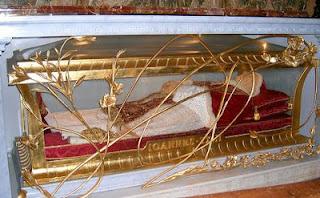 Cuerpo incorrupto del beato Juan XXIII