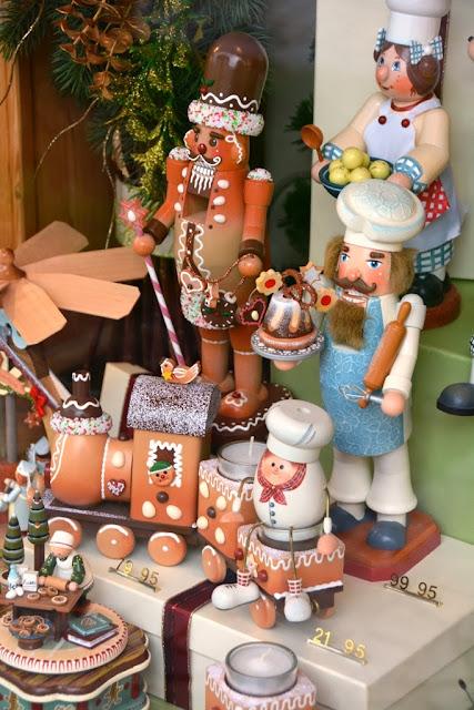 Oberammergau wooden puppets
