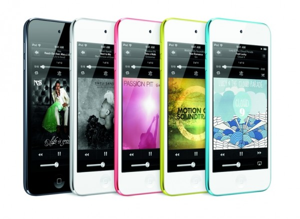 new ipod touch colors