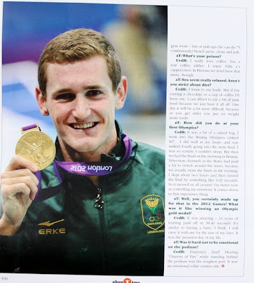 Interview with Cameron van der Burgh