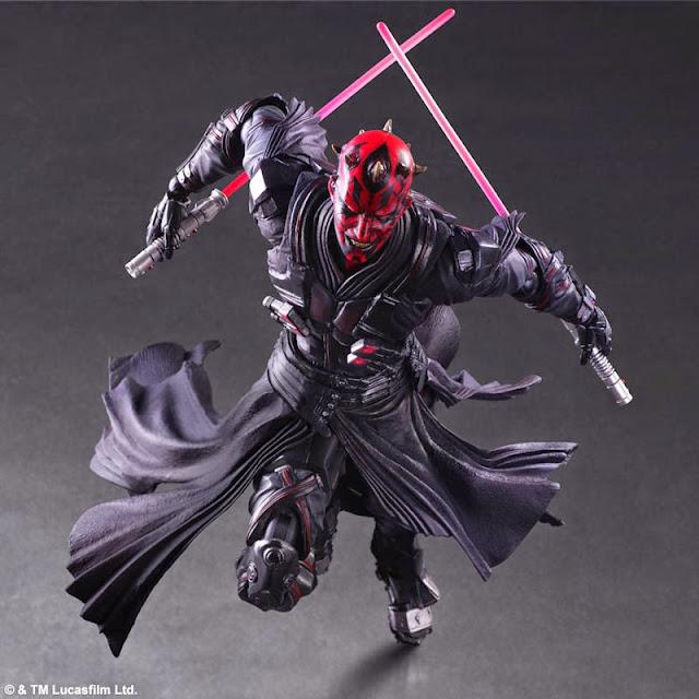 star wars action figure Play Arts Kai Variant Darth Maul