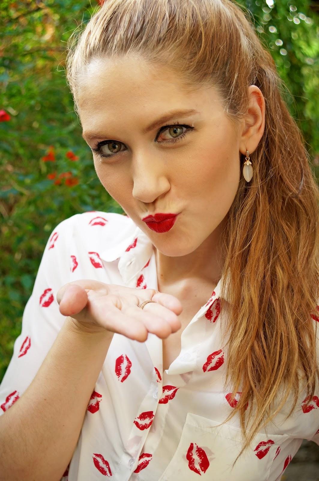 Cute Lips Shirt