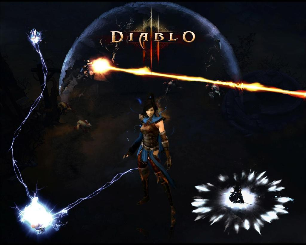 Diablo HD & Widescreen Wallpaper 0.106049162041479
