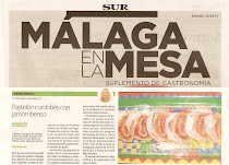 Receta publicada en el diario Sur de Mlaga