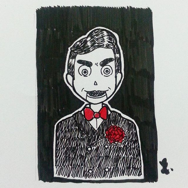 inktober-2015-slappy-the-dummy-goosebumps
