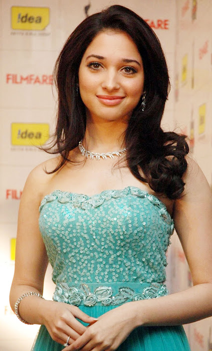 tamanna bhatia at idea filmfare awards