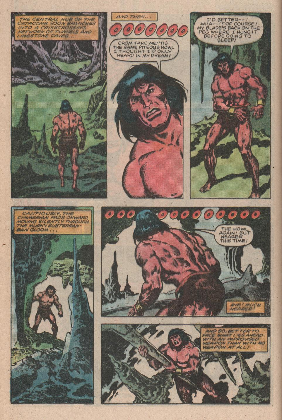 Conan the Barbarian (1970) Issue #156 #168 - English 9