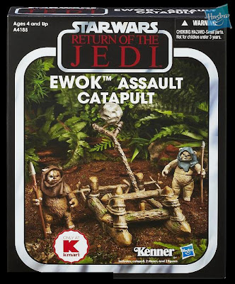 Hasbro Star Wars Vintage Collection K-Mart Exclusive Ewok Assualt Catapult Set