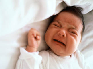 bayi menangis rewel