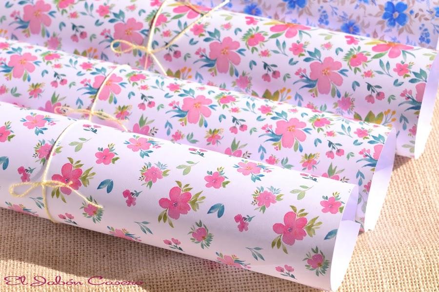 papeles bonitos para decorar jabones detalles de bodas y comuniones