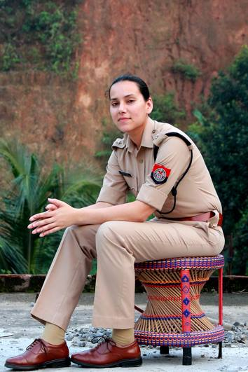 Sanjukta Parashar -  The first lady IPS Officer from Assam