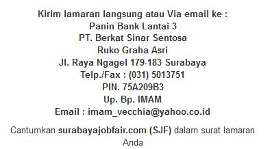 lowongan kerja terbaru panin bank surabaya 2014