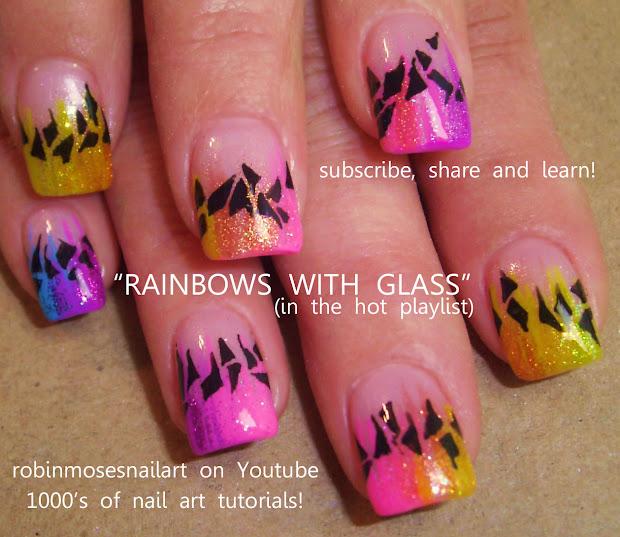 "robin moses nail art ""rainbow"
