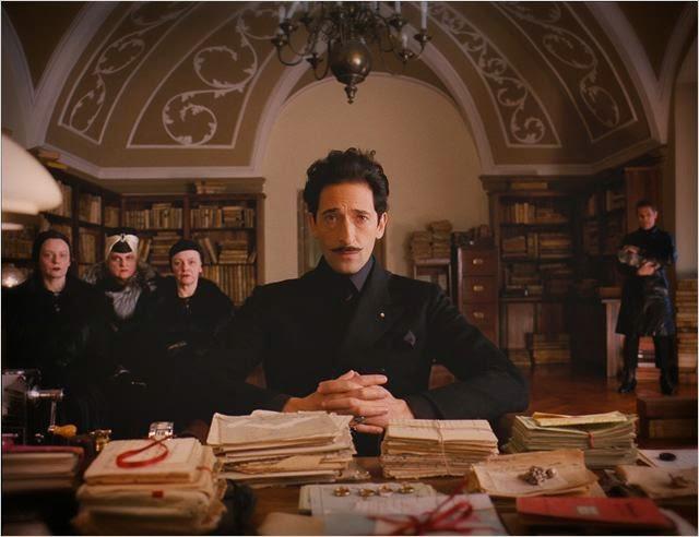 """Adrien Brody en """"El Gran Hotel Budapest"""""""